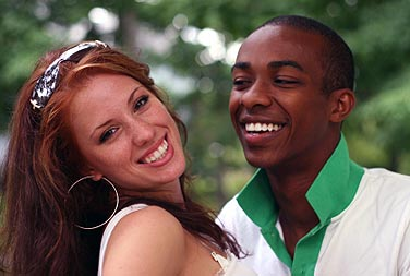 Affair with Beautiful Black Women on Black Dating Website